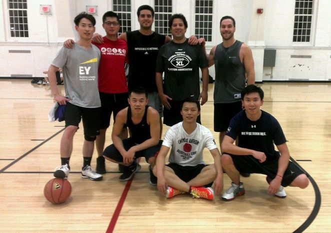 Intramural MBA Team, mixture of MBA and Master students.